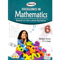 Prachi Excellence In Mathematics For Class 6