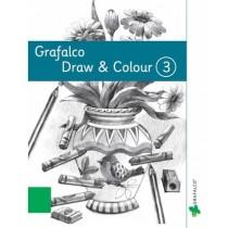 Grafalco Pre-School Draw & Colour Book 3