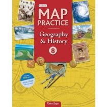Ratna Sagar Updated Map Practice book Class 8