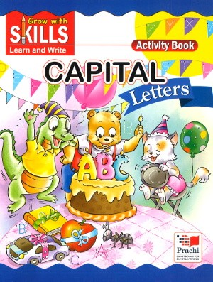 Prachi Capital Letters activity book