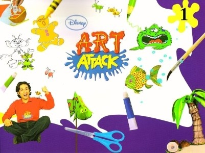 Disney Art Attack for Class 1