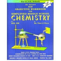 Dalal ICSE New Objective Workbook For Simplified Middle School Chemistry Class 8