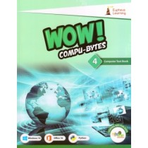 Eupheus Learning Wow Compu-Bytes Computer Textbook for Class 4