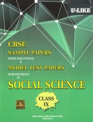 U-Like CBSE Social Science Sample Papers for Class 9