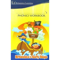 Britannica Early Steps Phonics Workbook For LKG Class