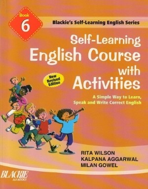 S chand Self Learning English Course With Activities Book 6