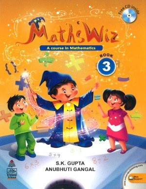 Maths Wiz A Course In Mathematics For Class 3