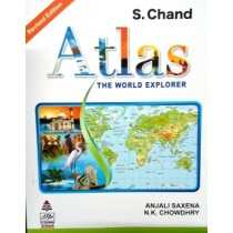 S. chand Atlas The World Explorer