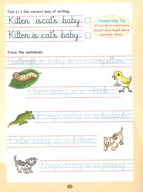 Viva Write It Right Cursive Handwriting For Class 1