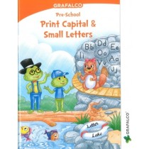 Grafalco Pre-School Print Capital & Small Letters