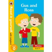 Read It Yourself With Ladybird Gus and Ross Phonics Book 4 Level 0