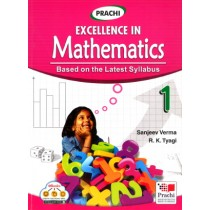 Prachi Excellence In Mathematics For Class 1