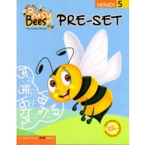 Acevision Busy Bees Pre-Set Hindi Book 5