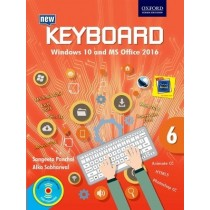 Oxford Keyboard Windows 10 And MS Office 2016 for Class 6