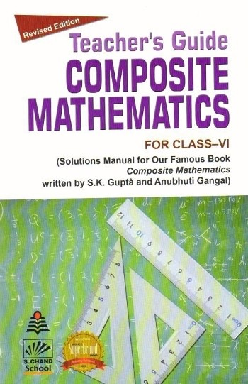 buy s chand composite mathematics solution book for class 6 rh mybookshop co in