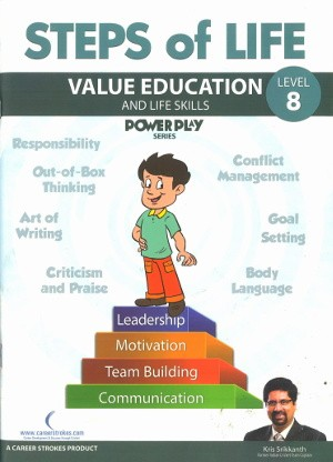 Britannica Steps of Life Value Education And Life Skills Class 8