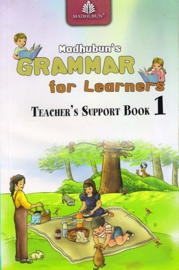 Madhubun Grammar For Learners Solution Book for Class 1