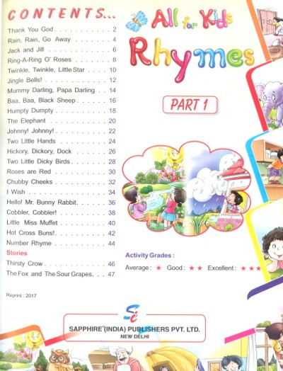 All For Kids Rhymes With Worksheets 1