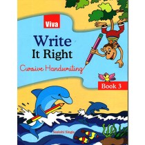Viva Write It Right Cursive Handwriting For Class 3