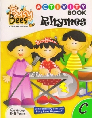 Acevision Busy Bees Rhymes with Activity Book C