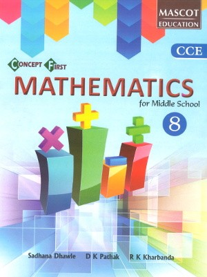 Concept First Mathematics For Middle School Class 8