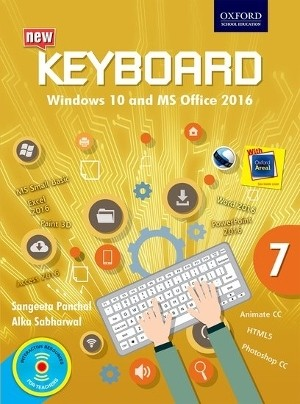 Oxford Keyboard Windows 10 And MS Office 2016 for Class 7
