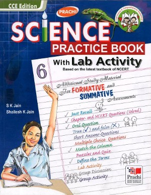 Science Practice Book With Lab Activity For Class 6
