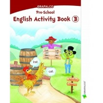 Grafalco Pre-School English Activity Book B