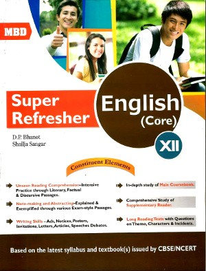 MBD Super Refresher English Core Class 12