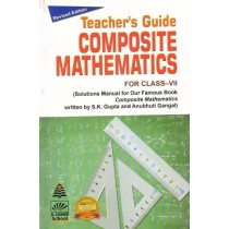 S chand Composite Mathematics Solution Book For Class 7