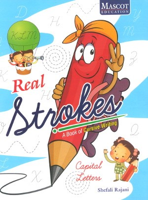 Real Strokes Capital Letters For KG Class