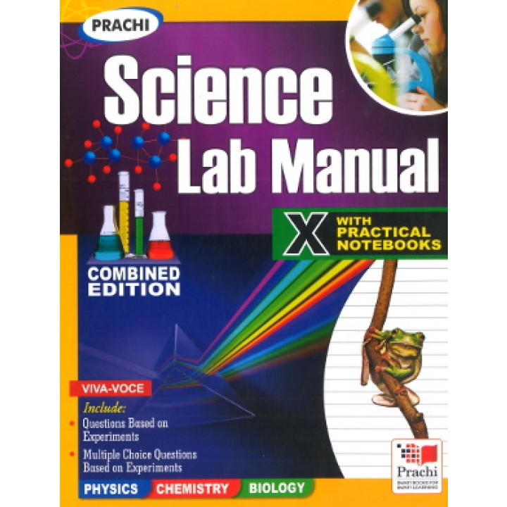 Prachi Science Lab Manual For Class 10 (With Practical Notebooks)