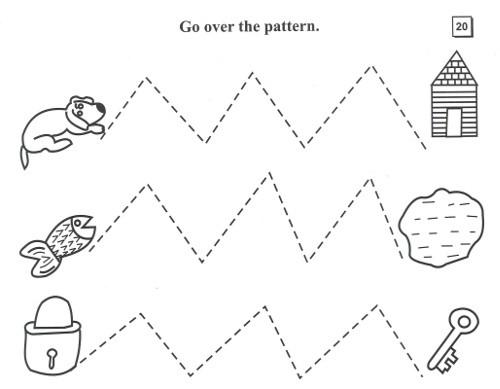 Kangaroo Pattern Writing Part A
