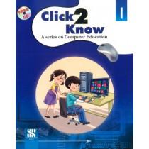 New Saraswati Click 2 Know Computer Education Class 1
