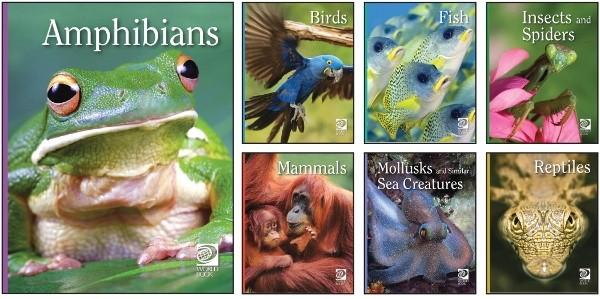 Animal Lives Encyclopedia Books