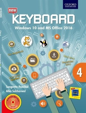 Oxford Keyboard Windows 10 And MS Office 2016 Class 4