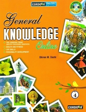 Cordova General Knowledge Online Book 4