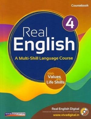 Viva Real English Coursebook Class 4