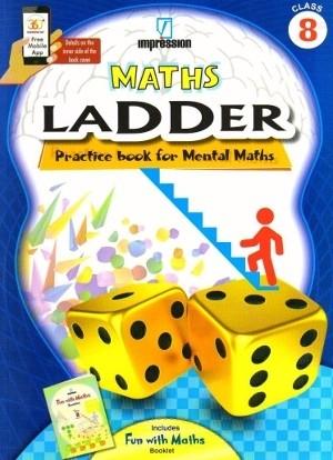 Maths Ladder Practice Book for Mental Maths Class 8