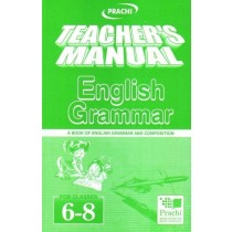 Prachi Teacher's Manual English Grammar For Classes 6 - 8