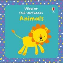 Usborne Fold-out Books Animals