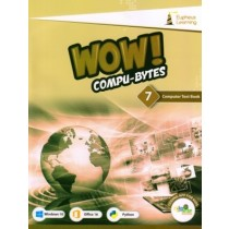 Eupheus Learning Wow Compu-Bytes Computer Textbook for Class 7