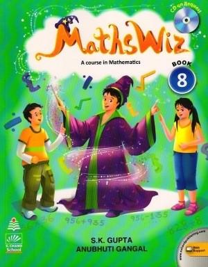 Maths Wiz A Course In Mathematics For Class 8