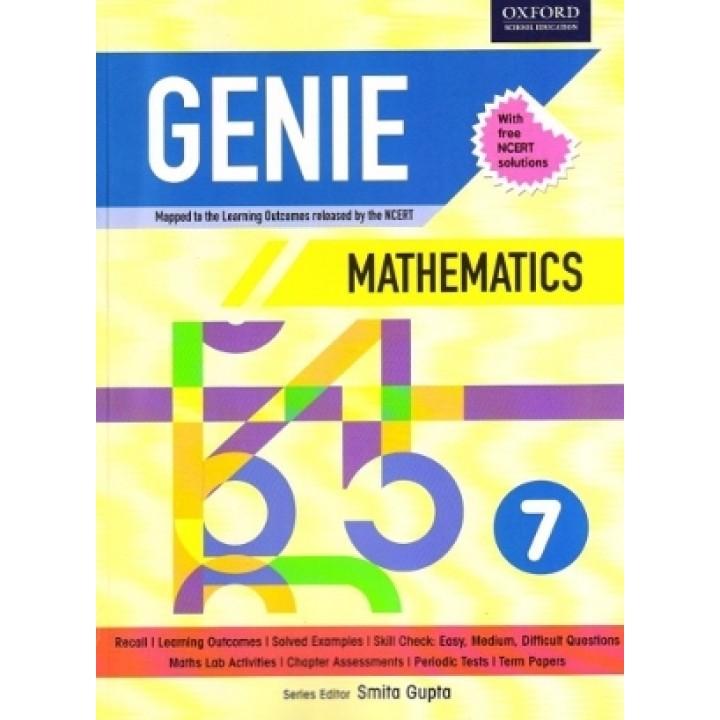 Oxford Genie Mathematics Workbook 7 (NCERT)