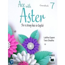 Pearson Ace with Aster English Coursebook Class 7