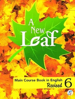 A New Leaf Main Course Book in English For Class 6