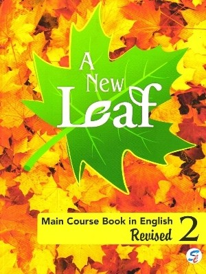 Sapphire A New Leaf Main Course Book in English For Class 2