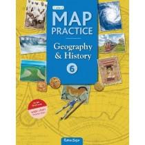 Ratna Sagar Updated Map Practice book Class 6