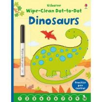 Usborne Wipe-clean Dot-to-dot Dinosaurs