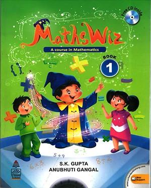 Maths Wiz A Course In Mathematics For Class 1